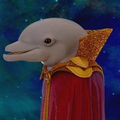Burbujas el delfin en <a href=