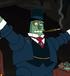 Robot billonario en la bestia con billones de brazos