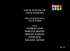 Créditos de doblaje de El gran oso (TV) (Pakapaka)