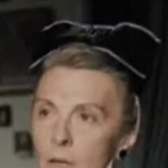 Fräulein Rottenmeier (Mary Nash) en <a href=