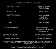 Coco Créditos Doblaje Latino 3