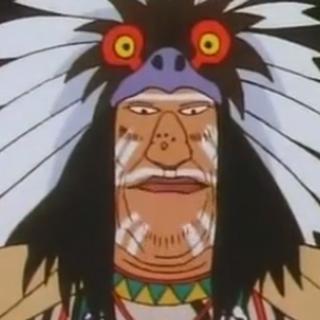 El Jefe indio (dos eps.) en <a href=