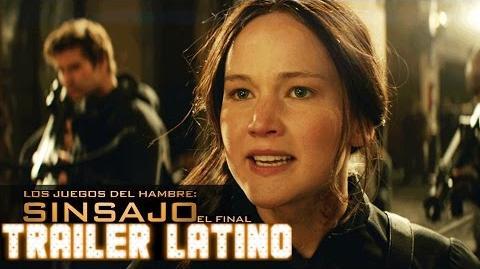 Tráiler -2 de Sinsajo - Parte 2 (2015)-HD- Doblado al Español Latino