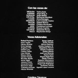 Créditos del episodio 1