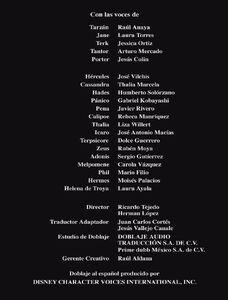 Créditos de doblaje de Héroes Vol. 1 (DVD)
