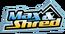 Max & Shred show title logo