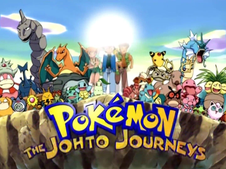 Pokémon Los Viajes Johto Opening (Español Latino) Full HD