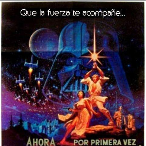 Poster original que anuncia la primera exhibición doblada de la cinta para latinoamerica.