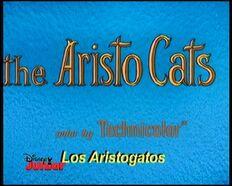 Subtítulo forzado del título en castellano de Los Aristogatos (TV) (DJ)