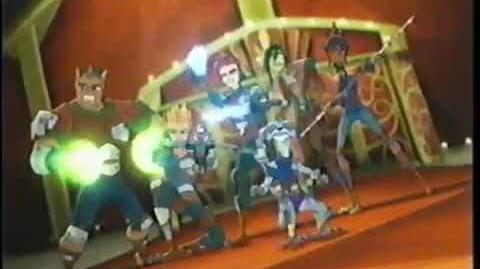 Promo Storm Hawks - Cartoon Network Latino (Enero 2008)