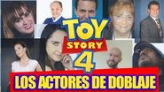 Las voces de TOY STORY 4 Geezuz González