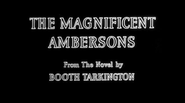 The Magnificent Ambersons (1942) El esplendor de los Ambersons (Español Latino