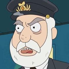 Capitán del barco también en <a href=