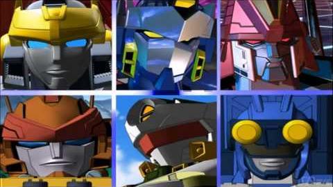 Transformers Cybertron Opening Español Latino