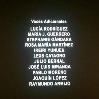 Créditos del Cine (5 de 5).