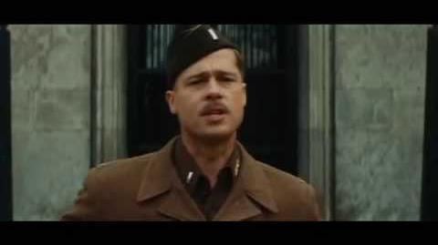 Brad Pitt - Bastardos sin Gloria - Escena Reclutamiento Audio Español Latino