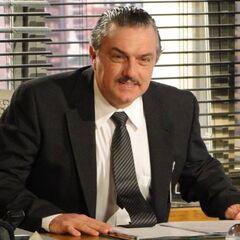 Saulo Gouveia en la teleserie brasileña <a href=
