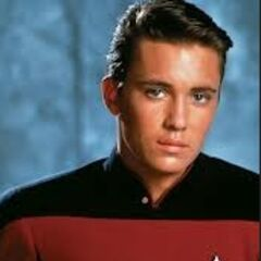 Wesley Crusher en <a href=