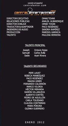 Doblaje Latino de La Profecía del 11-11-11
