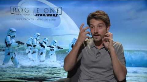 Diego Luna platica cómo filmó y dobló- Star Wars Rogue One