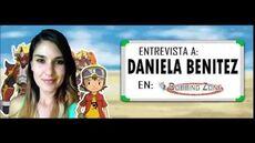 Entrevista a Daniela Benitez en Dubbing Zone