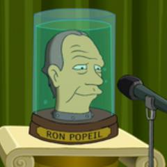 La cabeza de Ron Popeil en <a href=