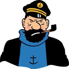 Capitan Archibald Haddock en el redoblaje de <a href=