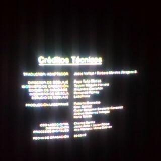 Créditos de doblaje en DVD, parte 3.