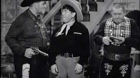 Los Tres Chiflados - Campeones del oeste (1943)