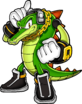 Vector the Crocodile - Sonic Channel