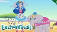 Enchantimals Latino 💜Historias de Everwilde La Fiesta de despedida 💜Dibujos para niños