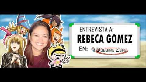 Entrevista a Rebeca Gómez en Dubbing Zone
