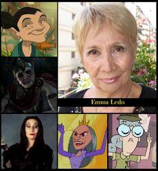 Homenaje a Emma Ledo