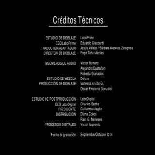 Creditos del DVD 3