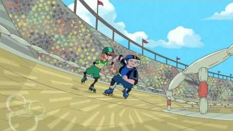 Vueltas y Vueltas Dan - Phineas y Ferb HD