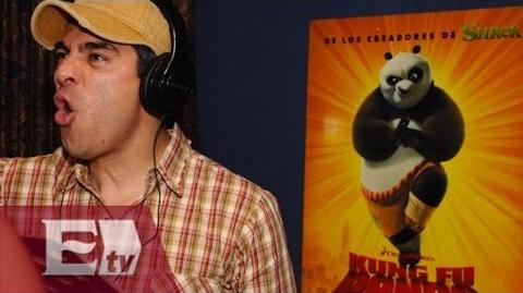 """""""Kung Fu Panda 3"""" con Omar Chaparro en la versión en español Yuriria Sierra-0"""