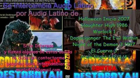 Godzilla vs Destroyah 1995 Doblaje Latino