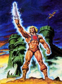 He-man artwork poster