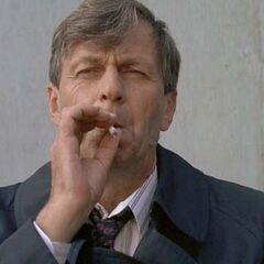 El Fumador (Sr. Cáncer) en <a href=