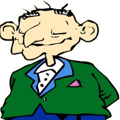Abuelo Boris en su primera aparición en <a href=