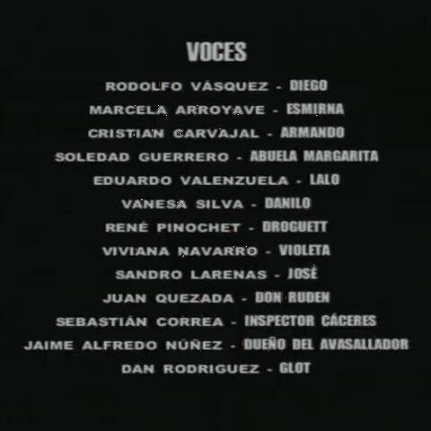 Créditos Temporada 1