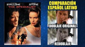 El Especialista -1994- Comparación del Doblaje Original y Redoblaje -Español Latino-