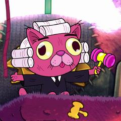 Juez Cara de gatito Miau Miau Shwartstein también en <a href=