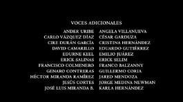 Mi amigo el dragón (2016) Doblaje Latino Creditos 3