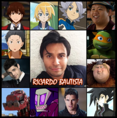 Ricardo Bautista - Doblaje77
