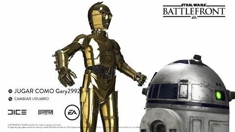 Star Wars Battlefront - Intro de C3PO y R2-D2 en Español