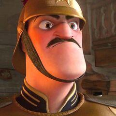 Capitán de la Guardia en <a href=
