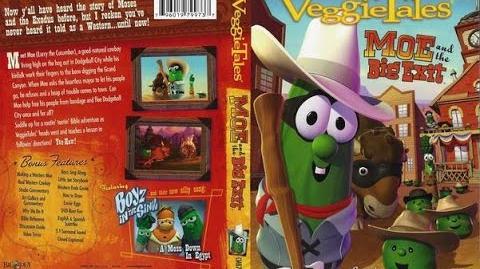 EL GRAN ESCAPE DE MOE DVD VEGGIETALES EN ESPAÑOL HD
