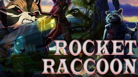Guardianes de la galaxia (2014) Conoce a Rocket Raccoon Spot Doblado