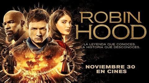 Robin Hood Tráiler oficial doblado al español Con Taron Egerton, Jamie Foxx y Jamie Dornan